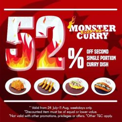 [Monster Curry] 52 years of undergoing a dramatic, improbable transformation, SINGAPORE has come a long way to being gracious .