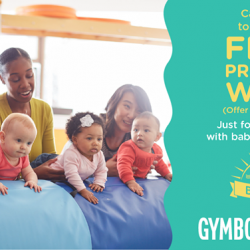 [GYMBOREE PLAY & MUSIC] 1 WEEK of FREE previews for new families with babies ages 0 - 10 months, from 1st - 9th July 2017.