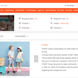[PONEY enfants] The promotion items are feature on : https://shopee.