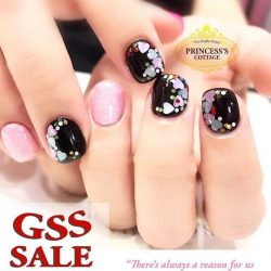[Princess's Cottage: The Nails Story] Check out our GSS sales.