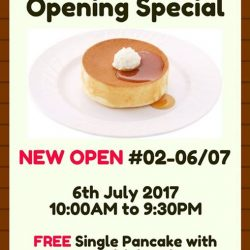 [Hoshino Coffee Singapore] United Square Opening Day Special!