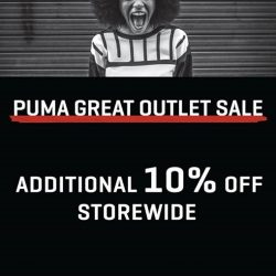 [Changi City Point] The Puma Great Outlet Sale is starting today till 30 July.