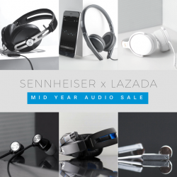 [Sennheiser] The Lazada Mid Year Audio Sale is now on!