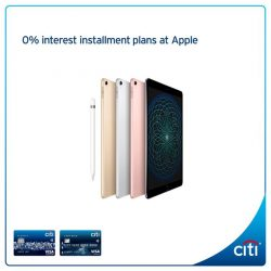 [Citibank ATM] Eyeing the latest iPad, Mac, iPhone or Apple Watch?