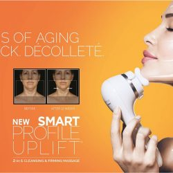 [Clarisonic] Introducing our most advanced device, the Smart Profile Uplift.