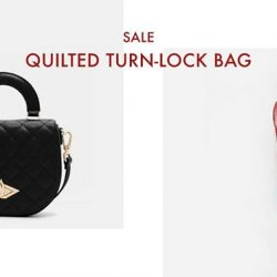 [Charles & Keith] CHARLESKEITH_ONLINE SALE: QUILTED TURN-LOCK BAG Shop Now: https://goo.