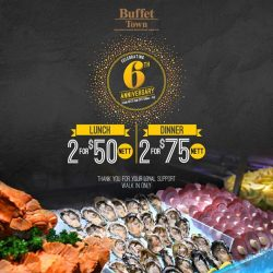 [Buffet Town] Only 2 Fridays left till our anniversary promo ends!