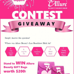 [Allure Beauty Saloon] NATIONAL DAY 2017 CONTEST!
