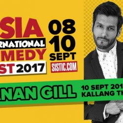 [SISTIC Singapore] Tickets for Kanan Gill Live in Singapore goes on sale on 13 July.