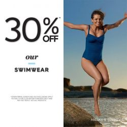 [Marks & Spencer] Send your summer spirits soaring with 30% OFF* our Marks and Spencer Women's Swimwear!