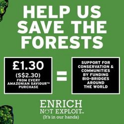 [The Body Shop Singapore] Join us to save the rainforest!