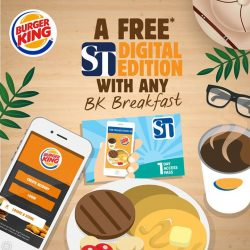 [Burger King Singapore] Wake up to an added delight from BK!