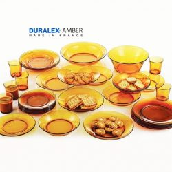 [Kitchen + Ware] Enjoy 20% off Made in France Duralex amber glasswares!