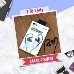 [XGEAR] For a chance to get a free wireless Mee audio earphone worth $79.