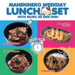 [Manekineko Karaoke Singapore] Looking a place for lunch with different atmosphere?