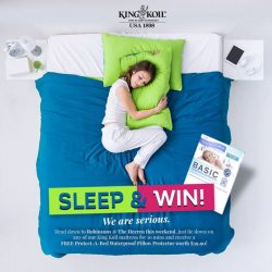 [King Koil Singapore] Enjoy a FREE Protect-A-Bed Waterproof Pillow Protector when you SLEEP + SNAP!