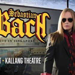 [SISTIC Singapore] Tickets for SEBASTIAN BACH - Live in Singapore goes on sale on 13 July.