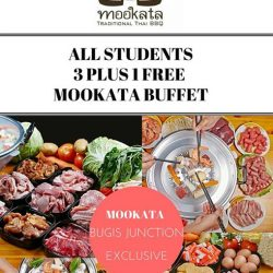 [Mookata Thai BBQ] Calling students of all ages!