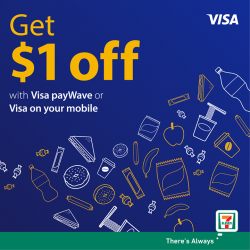 [7-Eleven Singapore] We've got good news – this promotion has been extended to 7 July!