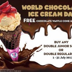[Baskin Robbins] This month, let's celebrate World Ice Cream Day with our best chocolate flavors!