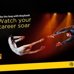 [Maybank ATM] At Maybank, we believe in developing our staff to their fullest potential and rewarding work excellence.