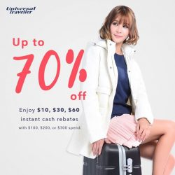 [Universal Traveller] Our Great Singapore Sale promotion is still on!