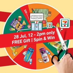 [7-Eleven Singapore] Get exclusive deals and freebies at our new store in Oxley Tower Singapore!