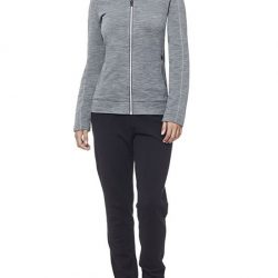 [Icebreaker Merino] A comfy and reliable jacket that's perfect for cool days and chilly nights, the Women's Dia Long Sleeve