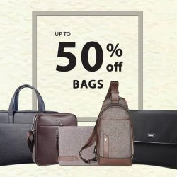 [Goldlion] Haul it all with up to 50% Off regular priced bags in all GOLDLION boutiques & department store outlets!