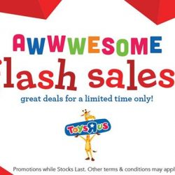 [Babies'R'Us] Awesome online only flash sales available from 7 - 9 July!