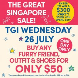 [Build-A-Bear Workshop] THE GREAT SINGAPORE SALE CONTINUES.