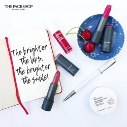 [THE FACE SHOP Singapore] The brighter the lips, the brighter the smile!