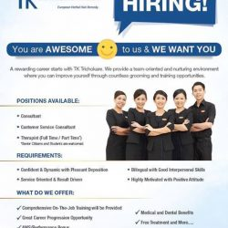 [TrichoKare] Looking for a rewarding career?