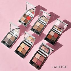 [Laneige] TGIF - let down your hair and vamp up your look with the Ideal Shadow Quad that is sure to draw