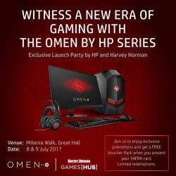 [Harvey Norman] Witness a new era of gaming with the new OMEN by HP series with HarveyNormanSG.