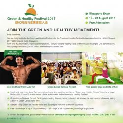 [Fitness First] Come and Join the Green and Healthy Movement in August!