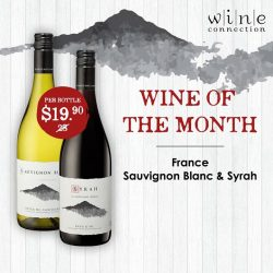 [Wine Connection] FREE tasting available at our stores*!