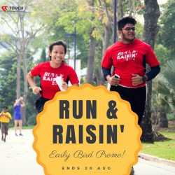 [TOUCH Community Service Centre] Run & Raisin' is back on 5 Nov!