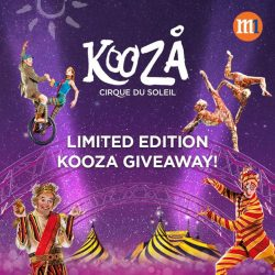 [M1] Redeem a limited edition KOOZA water bottle with 200 SunPerks points or get it free when you sign up or