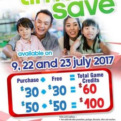 [Timezone] Mark these dates to enjoy more savings and games @ Timezone!