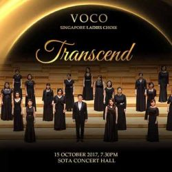 [SISTIC Singapore] Tickets for Transcend by VOCO Singapore Ladies Choir goes on sale on 17 July.