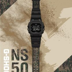 [Casio Timepiece Singapore] The Limited Edition G-Shock NS50 watch is here!