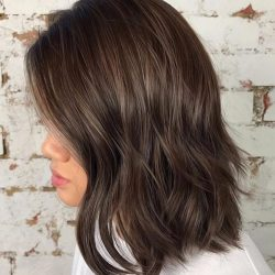 [Salon Vim] A beautiful blend of brown tones using colourmelt to give you brown hair texture and shine.