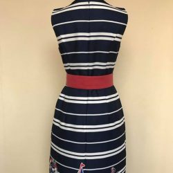 [Que Sera] Smart casual nautical dress that's perfect for the weekend.