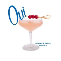 [CÉ LA VI] We are saying 'OUI' to French-inspired cocktails and bottle specials this Friday 14 July at our Bastille Day celebration.
