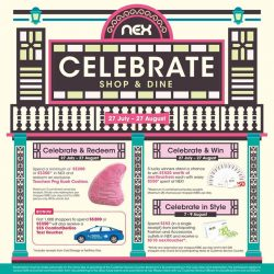 [NEX] Celebrate our Nation's birthday by shopping and dining at NEX!