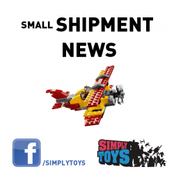 [Simply Toys] These items will be arriving at our warehouse and ready for collection in stores from Friday.