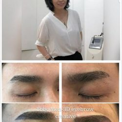 [THE BEST BEAUTY CENTRE] Tbbc 3d-men  eyebrow creative for 1layer now only $188 ($399)hurry show your likes n share will get 50%