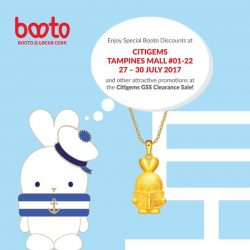 [CITIGEMS] Visit our Citigems GSS Clearance Sale at Tampines Mall 01-22 from now till Sunday (27 to 30 July 2017)