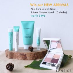 [Laneige] Kick start your tgif moments with LANEIGExLAZADA and get the chance to win the entire NEW Mini Pore Line (3